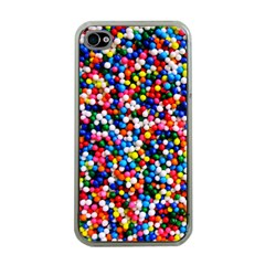 Sprinkles Apple Iphone 4 Case (clear) by TheTalkingDead