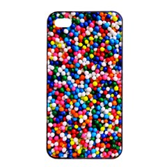 Sprinkles Apple Iphone 4/4s Seamless Case (black) by TheTalkingDead