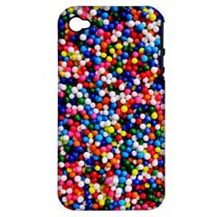 Sprinkles Apple Iphone 4/4s Hardshell Case (pc+silicone) by TheTalkingDead