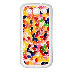 Jelly Beans Samsung Galaxy S3 Back Case (white)