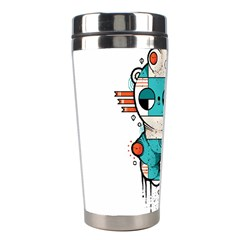 Muscle Cat Stainless Steel Travel Tumbler by Randyotter