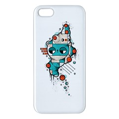Muscle Cat Iphone 5s Premium Hardshell Case by Randyotter