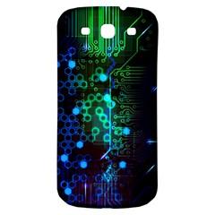 Circuit Board 2 0 Samsung Galaxy S3 S Iii Classic Hardshell Back Case by TheTalkingDead