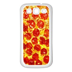 Pizza Samsung Galaxy S3 Back Case (white)