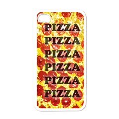 Pizza Pizza Pizza Pizza Apple Iphone 4 Case (white) by Contest1775858