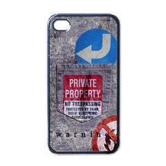 Warning Apple Iphone 4 Case (black) by Contest1761904
