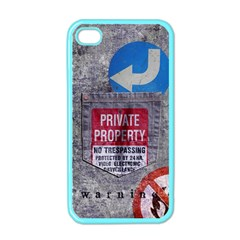 warning Apple iPhone 4 Case (Color) by Contest1761904