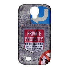 Warning Samsung Galaxy S4 Classic Hardshell Case (pc+silicone) by Contest1761904