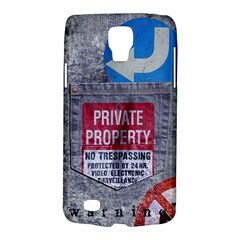 warning Samsung Galaxy S4 Active (I9295) Hardshell Case by Contest1761904