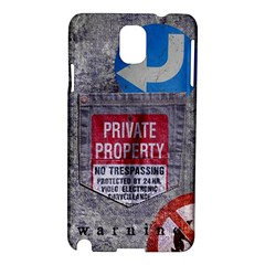 warning Samsung Galaxy Note 3 N9005 Hardshell Case by Contest1761904