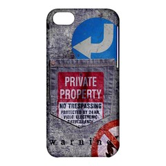Warning Apple Iphone 5c Hardshell Case by Contest1761904