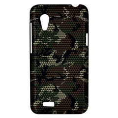 make love not war HTC Desire VT T328T Hardshell Case by Contest1761904