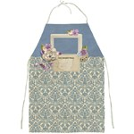 Birds & Blooms Apron Template - Full Print Apron