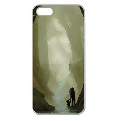 Fearless Apple Seamless Iphone 5 Case (clear) by RachelIsaacs