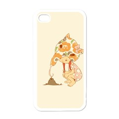 Anita Apple Iphone 4 Case (white) by RachelIsaacs