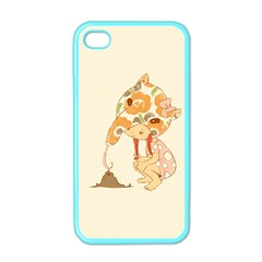 Anita Apple iPhone 4 Case (Color) by RachelIsaacs