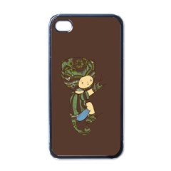 Charlie Apple Iphone 4 Case (black) by RachelIsaacs