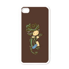 Charlie Apple iPhone 4 Case (White) by RachelIsaacs