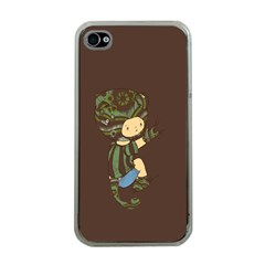 Charlie Apple Iphone 4 Case (clear) by RachelIsaacs