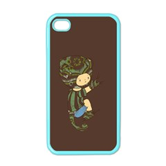 Charlie Apple Iphone 4 Case (color) by RachelIsaacs