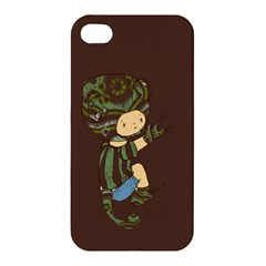 Charlie Apple Iphone 4/4s Hardshell Case by RachelIsaacs
