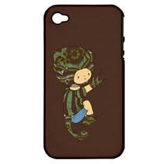 Charlie Apple Iphone 4/4s Hardshell Case (pc+silicone) by RachelIsaacs