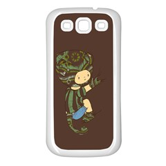 Charlie Samsung Galaxy S3 Back Case (white) by RachelIsaacs