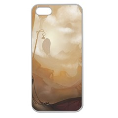 Storm Apple Seamless iPhone 5 Case (Clear) by RachelIsaacs