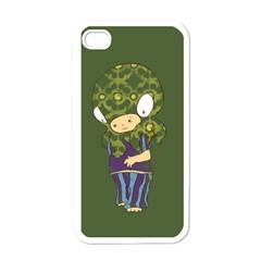 Octavio Apple Iphone 4 Case (white) by RachelIsaacs