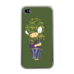 Octavio Apple Iphone 4 Case (clear) by RachelIsaacs