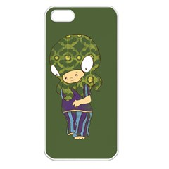 Octavio Apple Iphone 5 Seamless Case (white) by RachelIsaacs