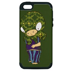 Octavio Apple Iphone 5 Hardshell Case (pc+silicone) by RachelIsaacs