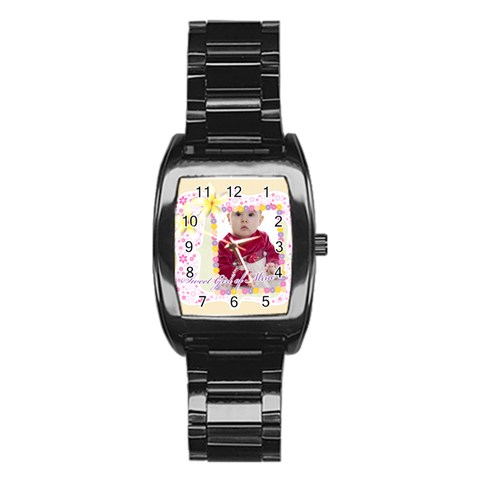 Kids By Anita   Stainless Steel Barrel Watch   Pifaoj6wlanq   Www Artscow Com Front