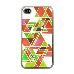Trianglez Apple Iphone 4 Case (clear)