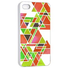 Trianglez Apple Iphone 4/4s Seamless Case (white) by ILANA
