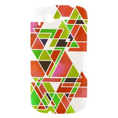 TRIANGLEZ HTC Desire S Hardshell Case by ILANA
