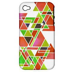 Trianglez Apple Iphone 4/4s Hardshell Case (pc+silicone) by ILANA