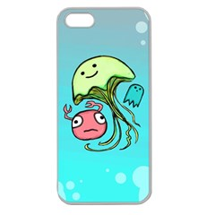 Ocean Party Apple Seamless Iphone 5 Case (clear)