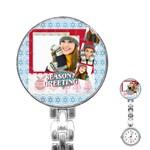 merry christmas - Stainless Steel Nurses Watch