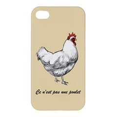 It s A Rooster  Apple Iphone 4/4s Premium Hardshell Case by Contest1632283