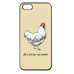 It s a rooster. Apple iPhone 5 Seamless Case (Black) by Contest1632283