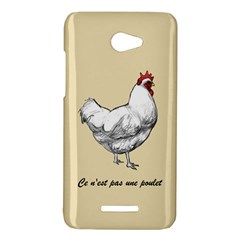 It s a rooster. HTC Butterfly (X920e) Hardshell Case by Contest1632283