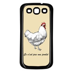 It s A Rooster  Samsung Galaxy S3 Back Case (black) by Contest1632283
