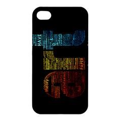 Art Apple Iphone 4/4s Hardshell Case