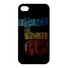 Art Apple Iphone 4/4s Premium Hardshell Case