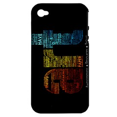 Art Apple Iphone 4/4s Hardshell Case (pc+silicone)