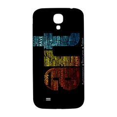 Art Samsung Galaxy S4 I9500/i9505  Hardshell Back Case
