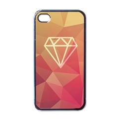 Diamond Apple iPhone 4 Case (Black) by Contest1701949