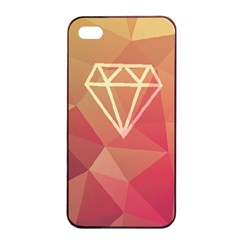 Diamond Apple Iphone 4/4s Seamless Case (black) by Contest1701949
