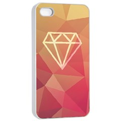 Diamond Apple Iphone 4/4s Seamless Case (white) by Contest1701949